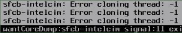 Intel CIM error after update/upgrade ESXi host