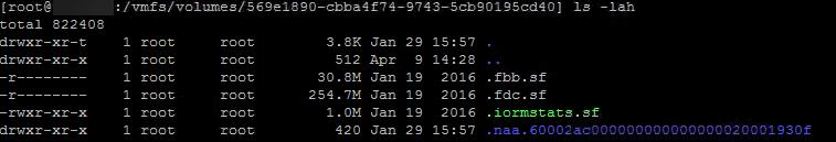 Found invalid object errors on storage volumes