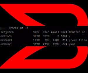 Full root partition on Brocade FC switch
